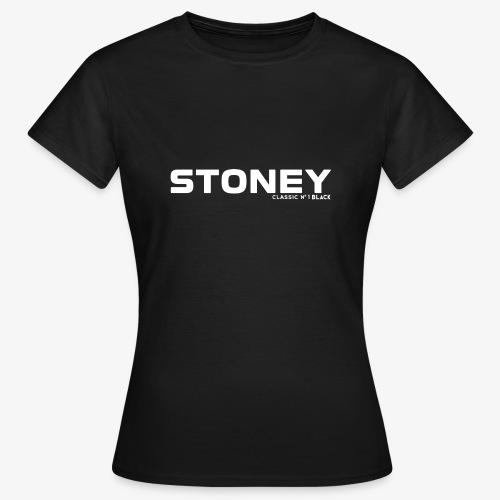 STONEY Classic No.1 BLACK - Frauen T-Shirt