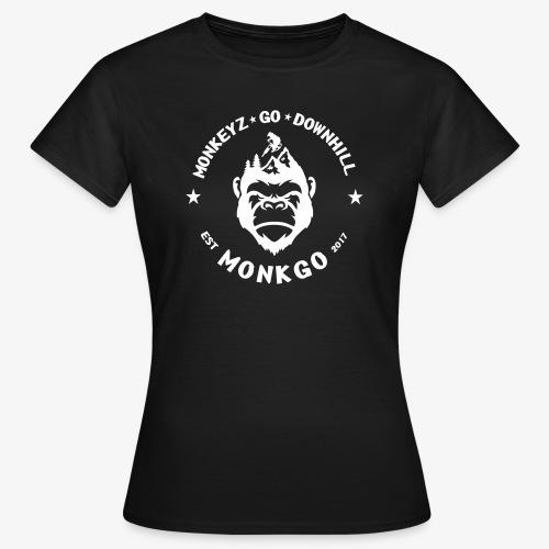 MonkGo Circle - Frauen T-Shirt