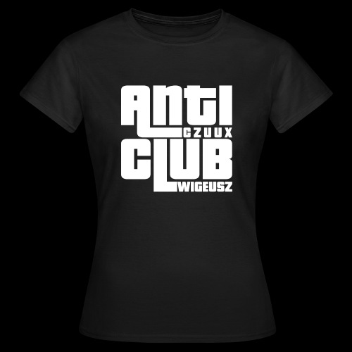 Anti Czuux Wigeusz Club - Koszulka damska