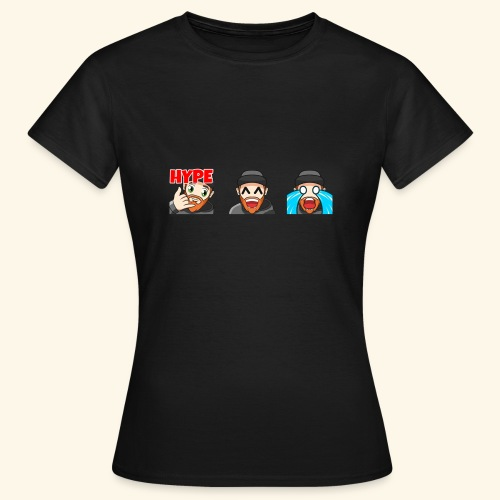 3Emotes - Women's T-Shirt
