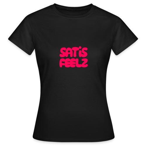Satisfeelz Pink - T-shirt dam