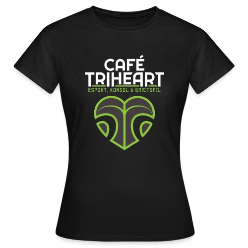 Triheart Logo - Dame-T-shirt