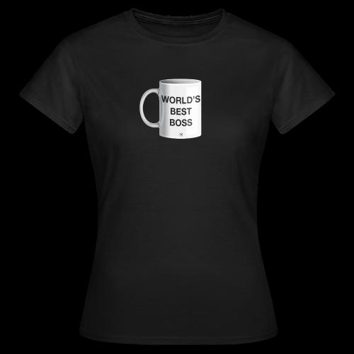 World's best boss - Camiseta mujer