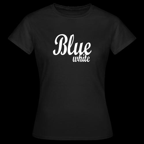 Blue White - Women's T-Shirt