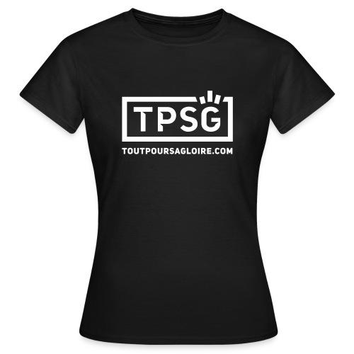 Logo TPSG - T-shirt Femme