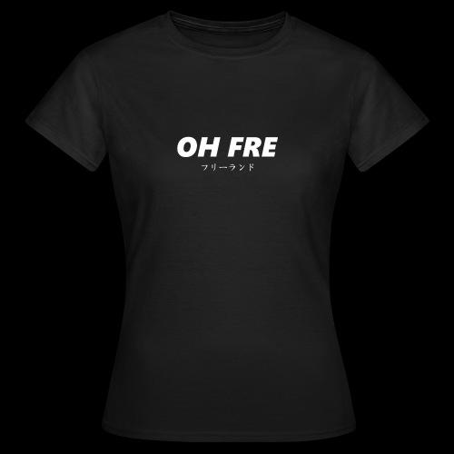 Oh Fre white - Maglietta da donna