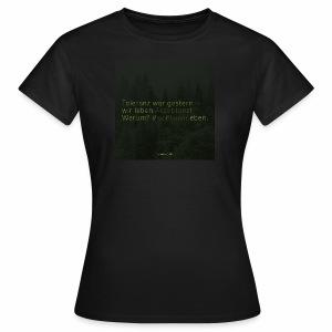 #weilbaum-T-Shirt Akzeptanz - Frauen T-Shirt