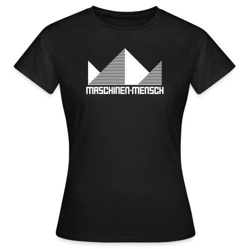 Maschinen-Mensch Logo black - Frauen T-Shirt