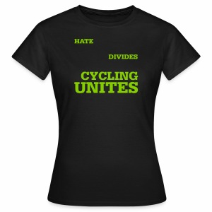 Cycling unites - Frauen T-Shirt