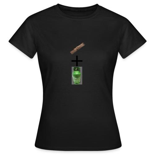 plank + gas - T-shirt Femme