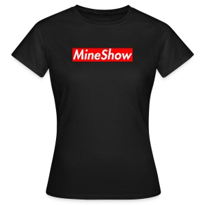 MineShow Box-Logo - Frauen T-Shirt