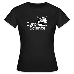 Euroscience logo White - Women's T-Shirt