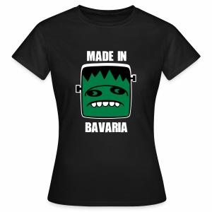 Fonster weiß made in Bavaria - Frauen T-Shirt