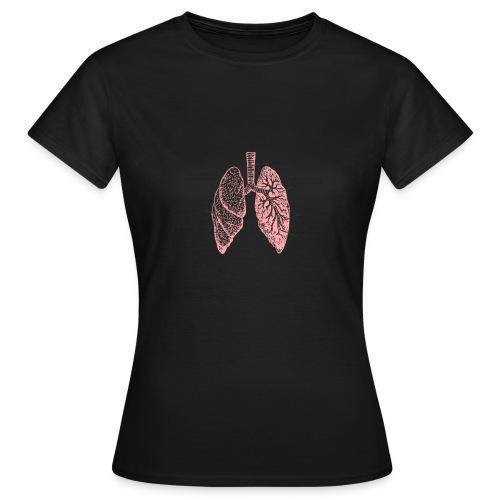 T-Shirt Lunge, Anatomie, Medizin - Frauen T-Shirt