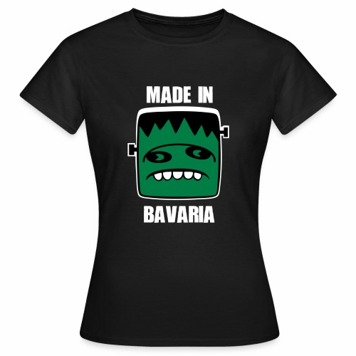 Fonster weiß made in Bavaria - Frauen T-Shirt