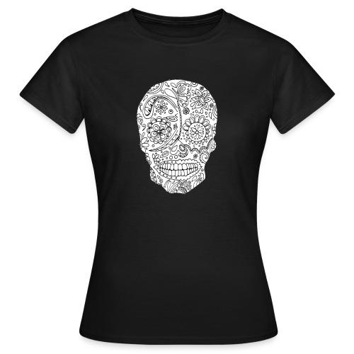 Sugar Skull - T-shirt Femme