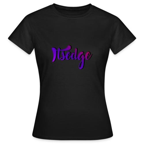 ItsEdge Signature Purple - Women's T-Shirt