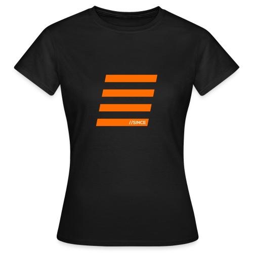Orange Bars - Frauen T-Shirt