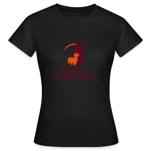 Natural Dogmanship Logo - Frauen T-Shirt