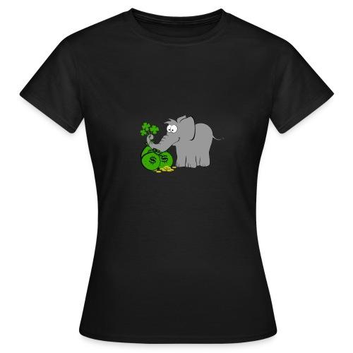 Der Gewinnofant - Frauen T-Shirt