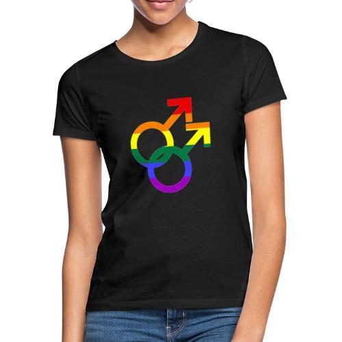 Gay Men Sign - Frauen T-Shirt