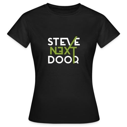 Steve Next Door - Klassisches Logo - Frauen T-Shirt