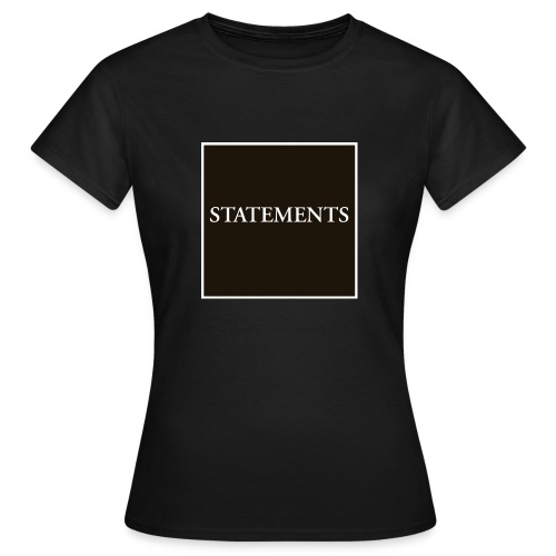 Statements EP Cover - T-shirt dam