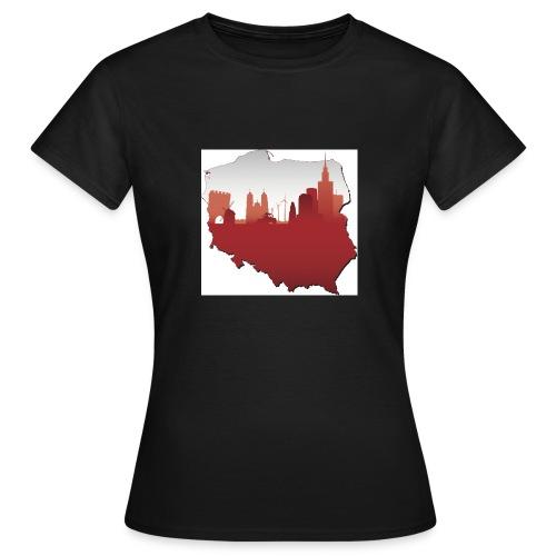 patriotyzm - Koszulka damska