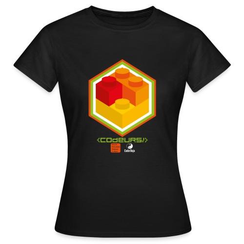 Esprit Club Brickodeurs - T-shirt Femme