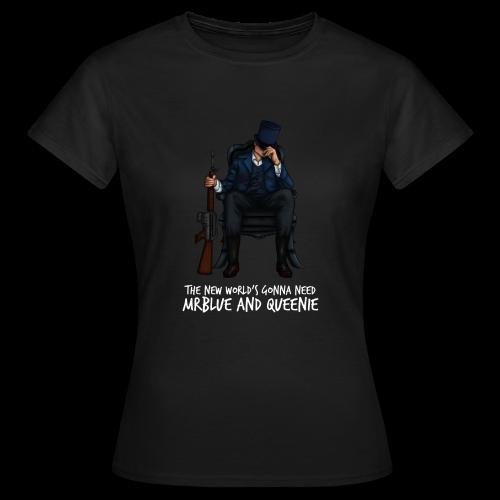 MrBlue's New World - Women's T-Shirt