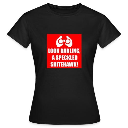 Shitehawk (Red) - Women's T-Shirt