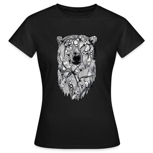 Isbjørn - T-skjorte for kvinner