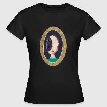 vincent design arthurine mand oval pindsvin - Dame-T-shirt