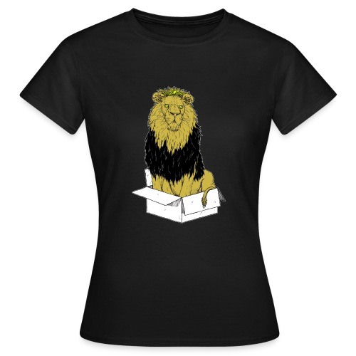 my box is my castle colour - Frauen T-Shirt