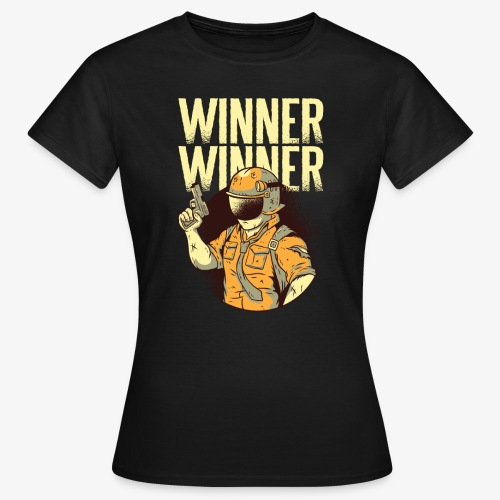 Winner Winner Gaming Gamer - Women's T-Shirt
