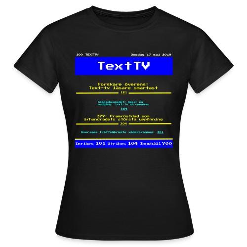 Text100 - T-shirt dam