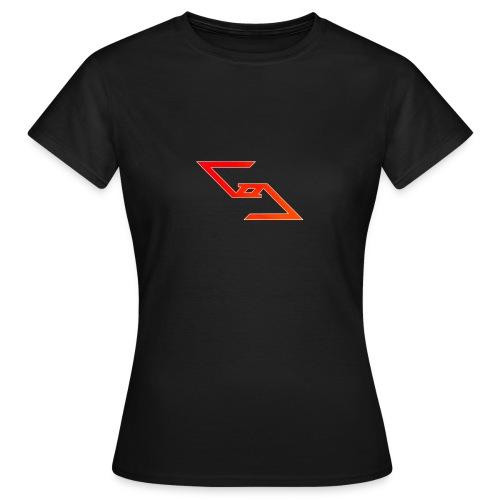 Logo et paterne de la marque. - T-shirt Femme