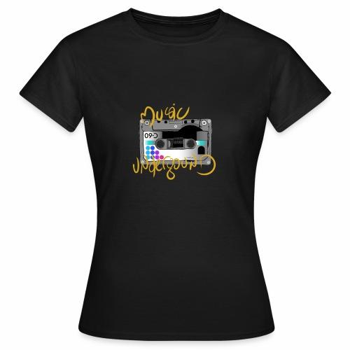 MUSIQUE UNDERGROUND - T-shirt Femme