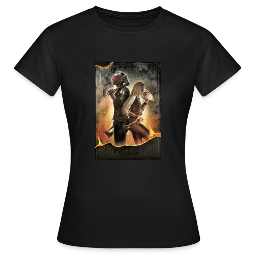 Rapeel and Terrina from Black Guild - Women's T-Shirt