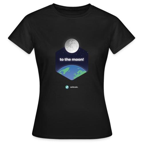 zeit earthrise - Women's T-Shirt