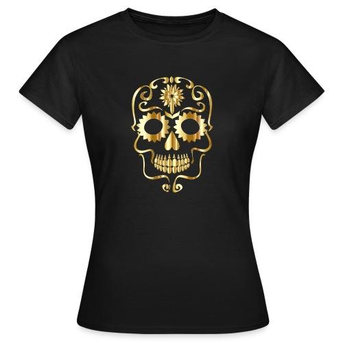 Koszulka Złota czaszka - Koszulka damska