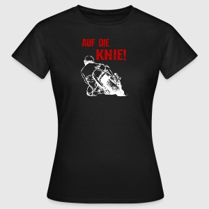 Motorcycle - On the knees Superbike - T-Shirt - Women's T-Shirt