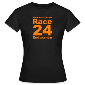 Race24 Logo in Orange - Women's T-Shirt