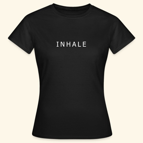 INHALE BLACK - Maglietta da donna