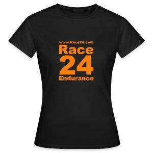 Race24 Logo in Orange - Women's T-Shirt