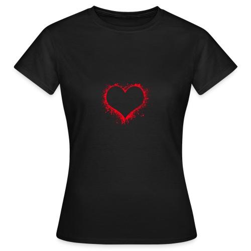heart - T-shirt dam