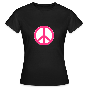 Peace, Love and Happiness - Vrouwen T-shirt
