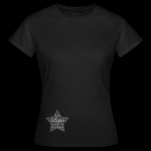 PAS Star white - Frauen T-Shirt