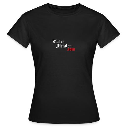 ZwareMetalen.com trapsgewijs - Vrouwen T-shirt