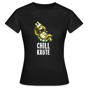 Chillkröte - Frauen T-Shirt